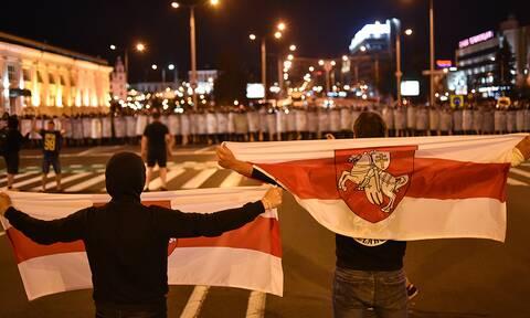 Большая часть протестующих разошлась из центра Минска