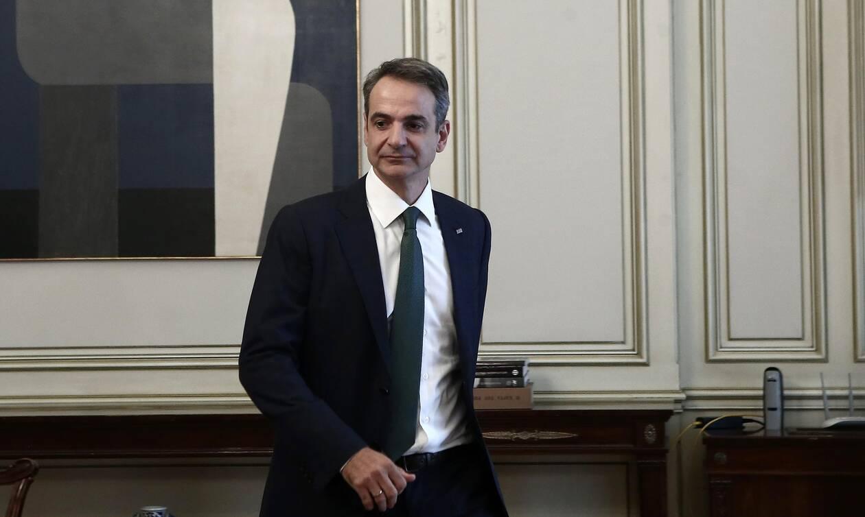 Ελληνοτουρκικά: Ο Μητσοτάκης ενημερώνει τους πολιτικούς αρχηγούς για την Αν. Μεσόγειο