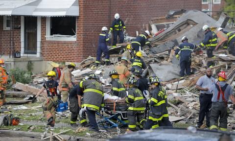 Μεγάλη έκρηξη στη Βαλτιμόρη: Μια νεκρή, τραυματίες και παγιδευμένοι (vids)
