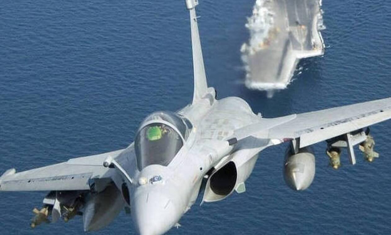 Στην Κύπρο τα μαχητικά της Γαλλικής Πολεμικής Αεροπορίας