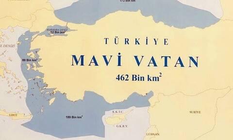 Οι τούρκοι ονειρεύονται «γαλάζια πατρίδα» στα social media με το #MaviVatan