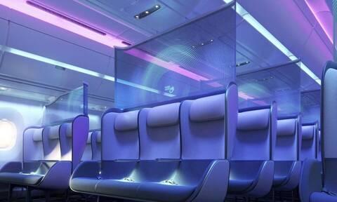 Έτσι θα είναι οι νέες καμπίνες στα αεροπλάνα λόγω κορονοϊού (vid)