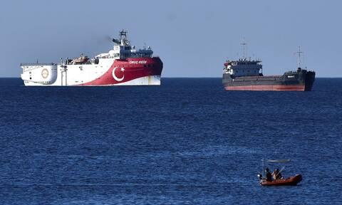 Θρίλερ με το Oruc Reis: Άλλαξε πορεία εντός της τουρκικής NAVTEX