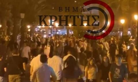 Κορονοϊός: Δείτε τι έγινε στην Κρήτη όταν έκλεισαν τα μαγαζιά τα μεσάνυχτα