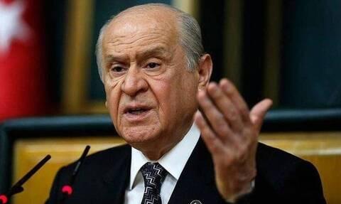 Παραλήρημα Μπαχτσελί εναντίον της Ελλάδας: Όσοι κάνουν προβοκάτσιες τους περιμένει ο πνιγμός
