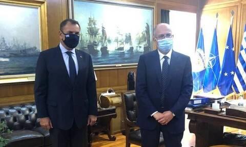 Η τουρκική προκλητικότητα στο επίκεντρο της συνάντησης Παναγιωτόπουλου - Ισραηλινού πρέσβη