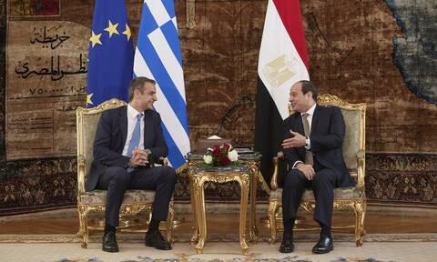 Τουρκική προκλητικότητα: Επικοινωνία Μητσοτάκη με τον πρόεδρο της Αιγύπτου