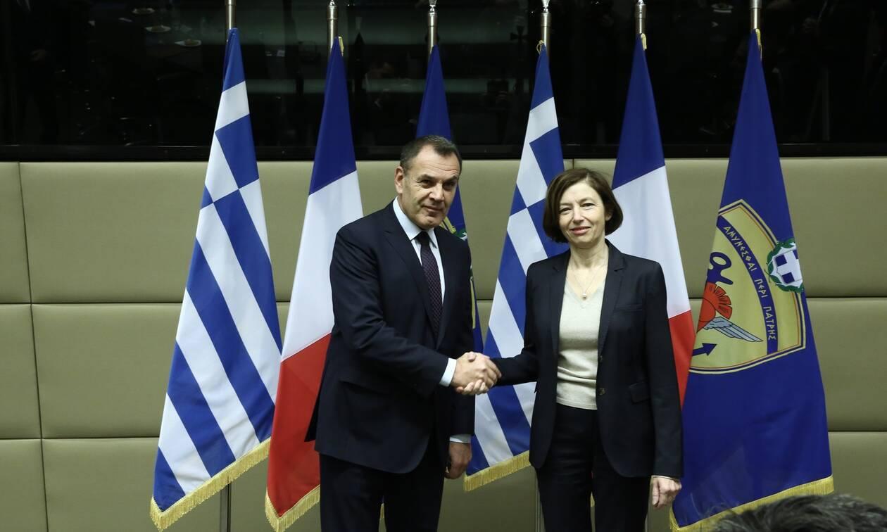 Επικοινωνία Παναγιωτόπουλου με τη Γαλλίδα υπουργό Αμυνας για την τουρκική προκλητικότητα