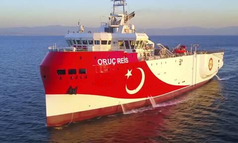 Oruc Reis: «Πόλεμος νεύρων» στο Αιγαίο - Έκανε στροφή και επιστρέφει στην ελληνική υφαλοκρηπίδα