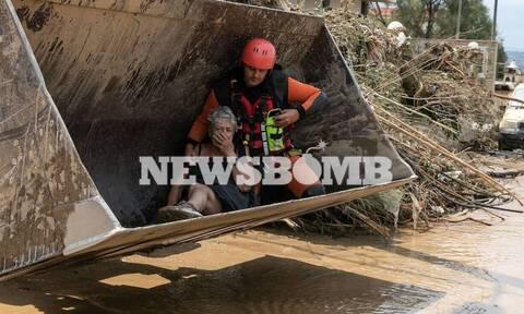 Εύβοια: Τεράστια η καταστροφή στα Πολιτικά από τις φονικές πλημμύρες (vid)