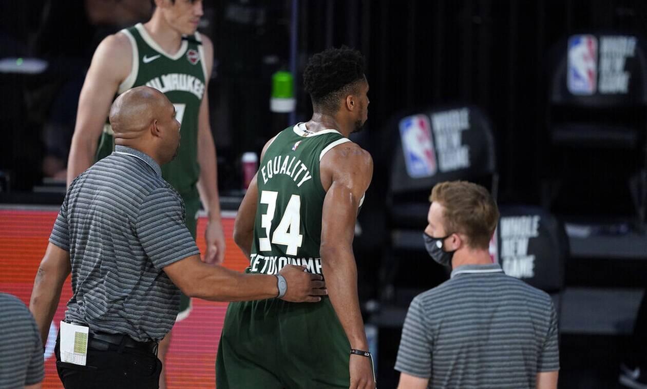 NBA: Φθηνά τη γλίτωσε ο Γιάννης Αντετοκούνμπο για την κουτουλιά (video)