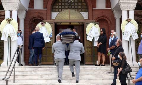 Το τελευταίο «αντίο» στον Ντίνο Χριστιανόπουλο