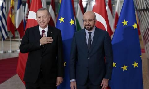 ΕΕ: Επικοινωνία Σαρλ Μισέλ με Ερντογάν