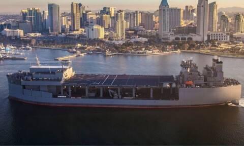Τζέφρι Πάιατ: Σύντομα στην Ελλάδα το αμερικανικό ελικοπτεροφόρο USS Hershel «Woody» Williams (pics)