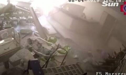 Βηρυτός: Η στιγμή που η έκρηξη ισοπεδώνει νοσοκομείο - 17 νεκροί