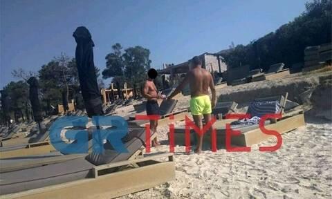 Κορονοϊός: Λουκέτο σε γνωστό beach bar της Χαλκιδικής