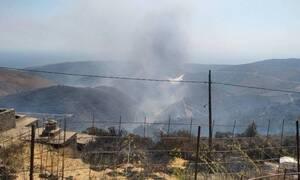 Κρήτη: Μαίνεται η φωτιά στο Σέλινο - Ολονύχτια αναμένεται η μάχη με τις φλόγες