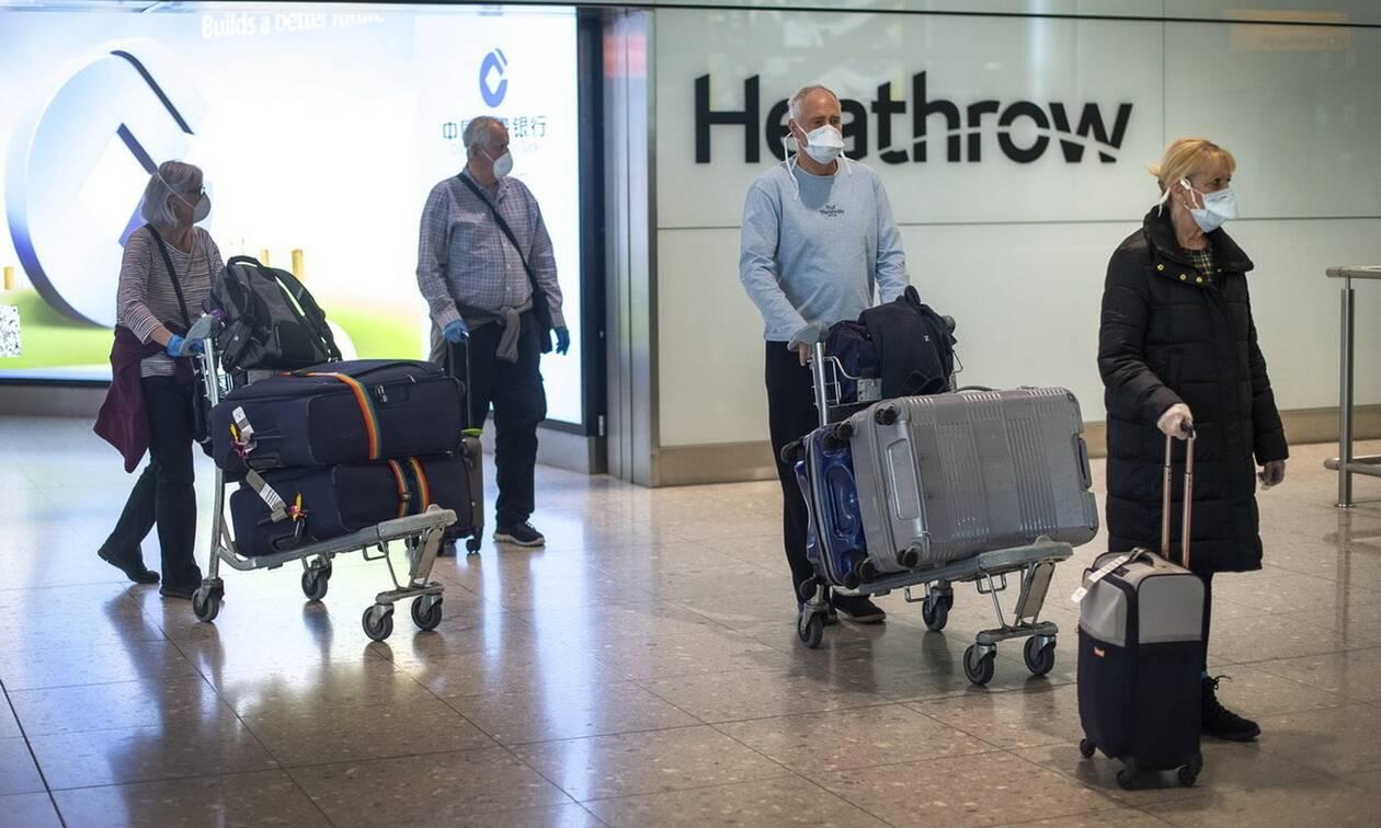 Κορονοϊός στη Βρετανία: Σε καραντίνα 14 ημερών ταξιδιώτες από έξι χώρες - Οργή στη Γαλλία