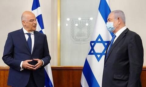 Νετανιάχου σε Δένδια: Κοινά γεωστρατηγικά συμφέροντα Ελλάδας και Ισραήλ στην Αν. Μεσόγειο