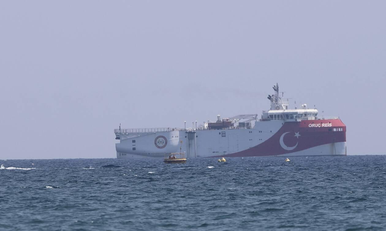 Oruc Reis: Αλλαξε πάλι πορεία το τουρκικό ερευνητικό πλοίο - Δείτε τη θέση του