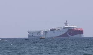 Oruc Reis: Άλλαξε πάλι πορεία το τουρκικό ερευνητικό πλοίο - Δείτε τη θέση του