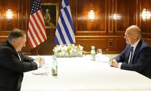 Δένδιας: Η Τουρκία να αποχωρήσει άμεσα από την ελληνική υφαλοκρηπίδα - Τι ζήτησε από ΗΠΑ