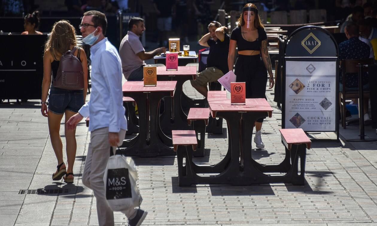 Κορονοϊός: Νέα ρεκόρ κρουσμάτων ανακοίνωσαν Γαλλία και Βρετανία