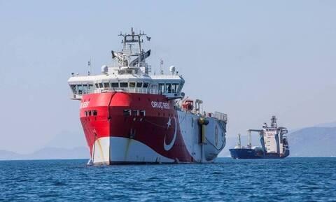 Κάνει κύκλους το «Oruc Reis»: Πού βρίσκεται ΤΩΡΑ το τουρκικό πλοίο