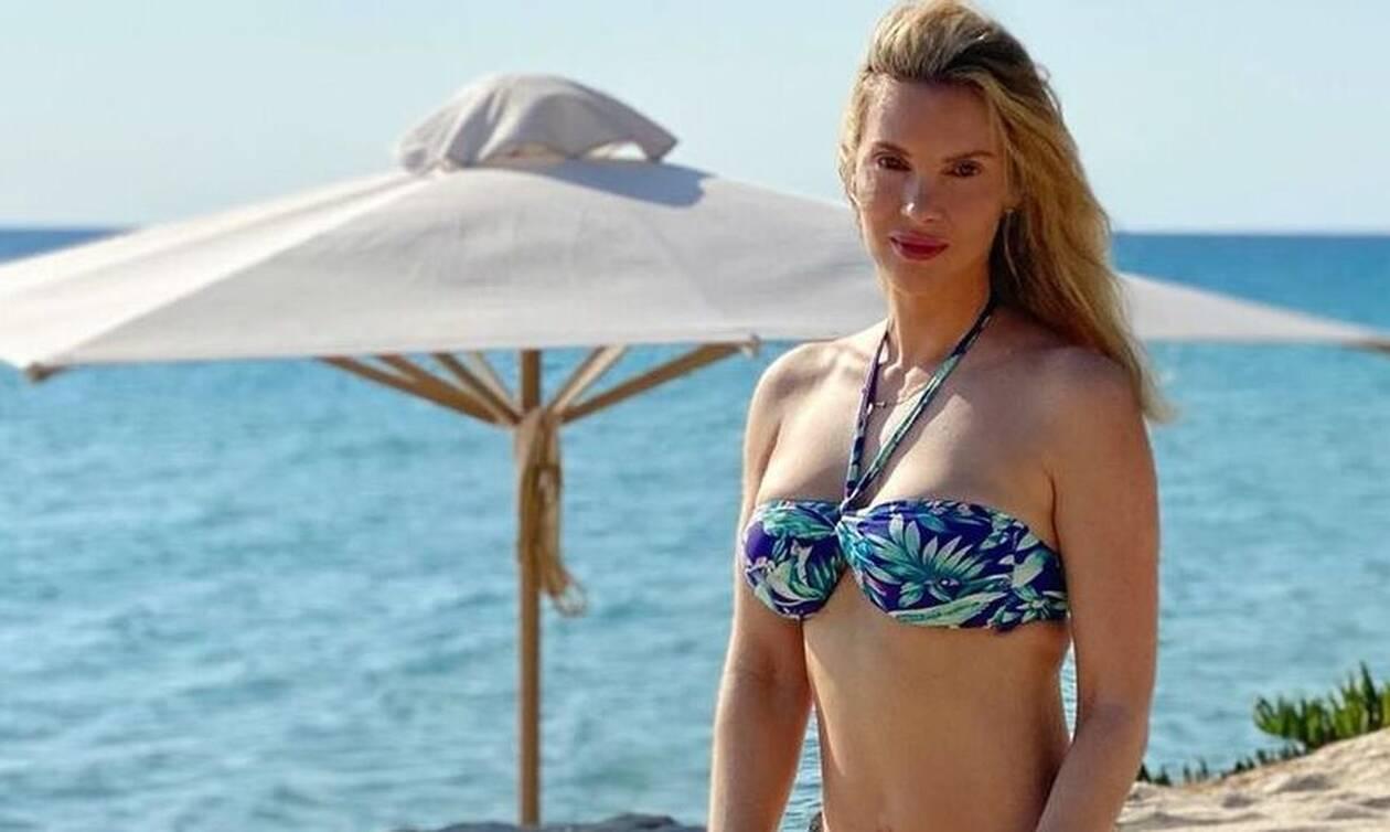 Χριστίνα Αλούπη: Οικογενειακές διακοπές στην Χαλκιδική - Δείτε φώτο