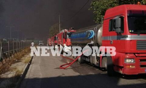 Φωτιά στη Μεταμόρφωση: Προειδοποίηση 112  - «Μείνετε σπίτια σας»