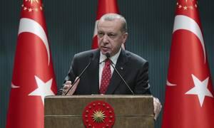 Ερντογάν: Θα προστατεύσουμε στο μέγιστο τα δικαιώματα μας σε Αν. Μεσόγειο, Λιβύη και Αιγαίο