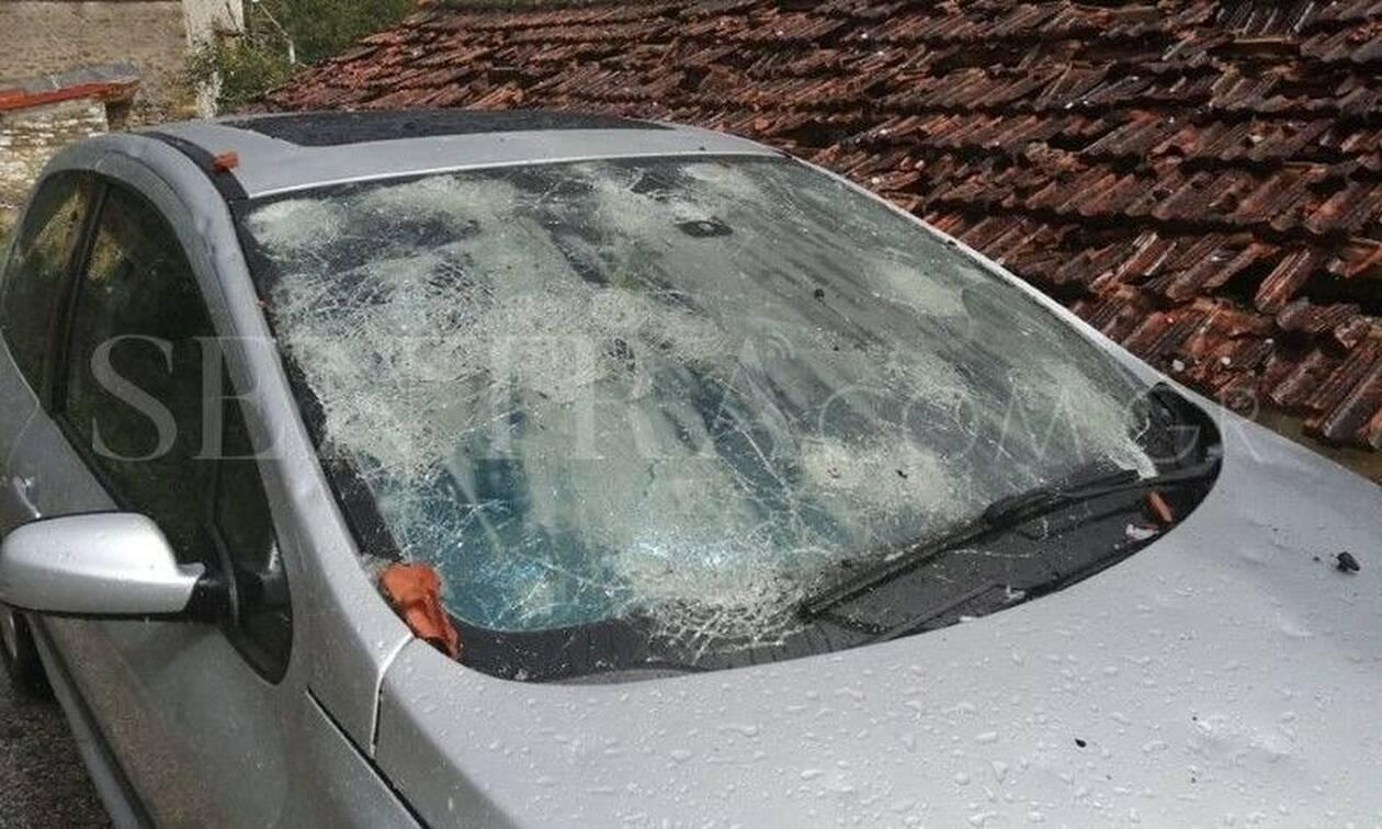 Καστοριά: Σάρωσε τα πάντα το χαλάζι - Απίστευτες εικόνες