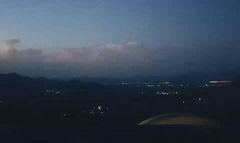 Καιρός: Εντυπωσιακές εικόνες από την καταιγίδα στον Όλυμπο