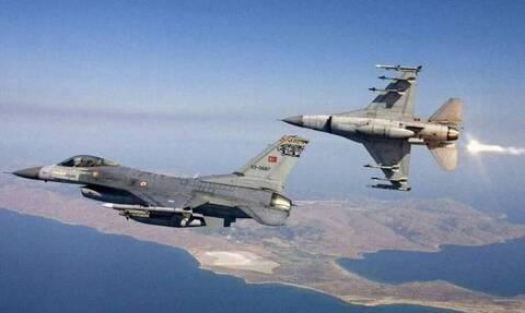 Νέες παραβιάσεις από τουρκικά μαχητικά στο Αιγαίο