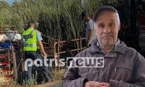 Θρίλερ στην Ηλεία: 58χρονος βρέθηκε νεκρός σε αρδευτικό κανάλι - Έπεσε ή τον έριξαν;