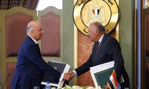 Συμφωνία Ελλάδος - Αιγύπτου μέσω εγκατάλειψης της «μέσης γραμμής»