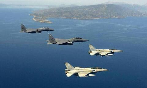Νέες προκλήσεις: Δεκάδες παραβιάσεις από τουρκικά αεροσκάφη στο Αιγαίο