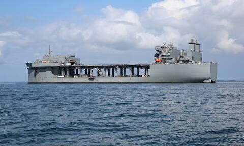 Στην Κρήτη το αμερικανικό ελικοπτεροφόρο USS Hershel «Woody» Williams