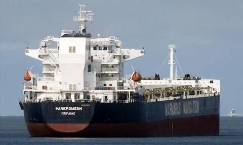 Φωτιά σε φορτηγό πλοίο υπό ελληνική σημαία, με 18μελές πλήρωμα, στην Αραβική Θάλασσα