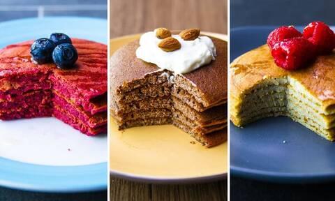 Προσέχετε τη διατροφή σας; Ιδού 7 συνταγές για pancakes με λίγες θερμίδες