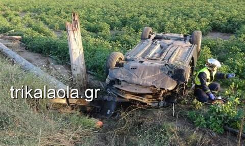 Τρίκαλα: Νεκρός σε τροχαίο 57χρονος - Έπεσαν πάνω του χιλιάδες volt (pics+vid)