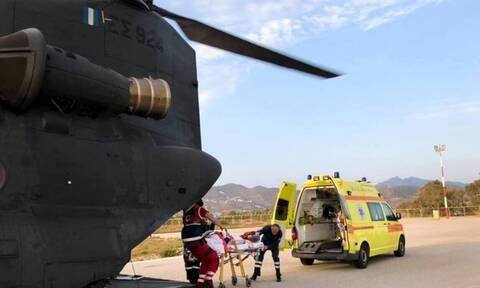 Κρήτη: Αερογέφυρα ζωής για 2 νεογνά - Μεταφέρθηκαν με στρατιωτικό αεροσκάφος