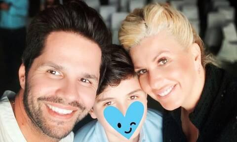 Γ. Τσαλίκης: Η selfie με τα αντράκια του & τη σύζυγό του απ' τις διακοπές