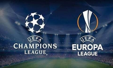 Φινάλε για Champions League και Europa League