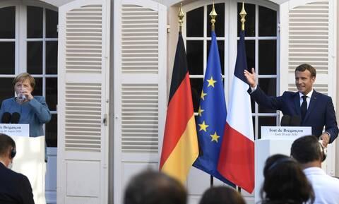 Ηχηρό μήνυμα στον Ερντογάν - Μακρόν σε Μέρκελ: Θα προστατεύσουμε την κυριαρχία της ΕΕ