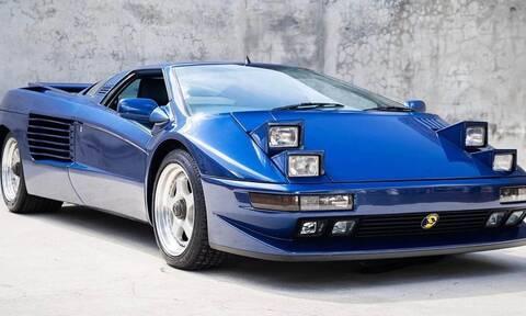 Γιατί αυτή η σπανιότατη Cizeta V16T του 1993 έχει μόλις 980 χιλιόμετρα στο κοντέρ της;