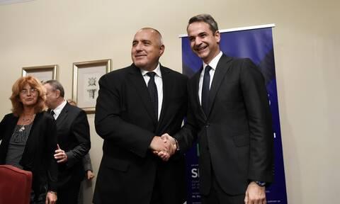 Μητσοτάκης - Μπορίσοφ στην τελετή υπογραφής του έργου για Υγροποιημένο Αέριο στην Αλεξανδρούπολη