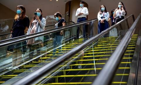 Κίνα: 22 κρούσματα μόλυνσης από τον κορονοϊό σε 24 ώρες, όλα «εισαγόμενα»