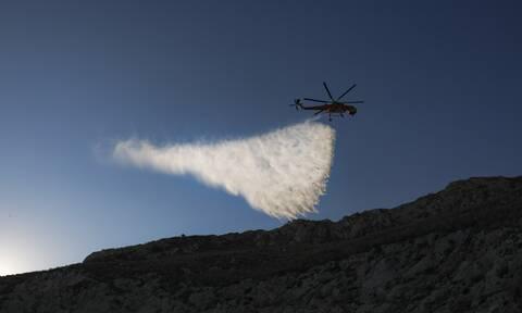 Φωτιά ΤΩΡΑ: Πύρινος εφιάλτης στη λακωνική Μάνη - Εκκενώθηκαν οικισμοί