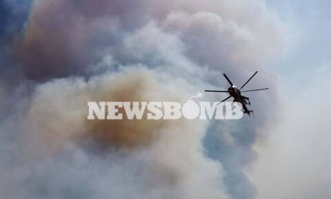 Φωτιά στη Μάνη: Ενεργοποιήθηκε το προγνωστικό σύστημα IRIS